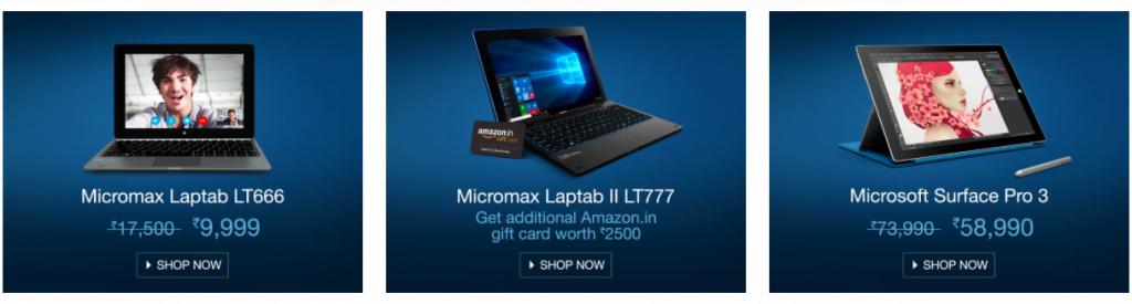 2-in-1 Laptops Deal Microsoft