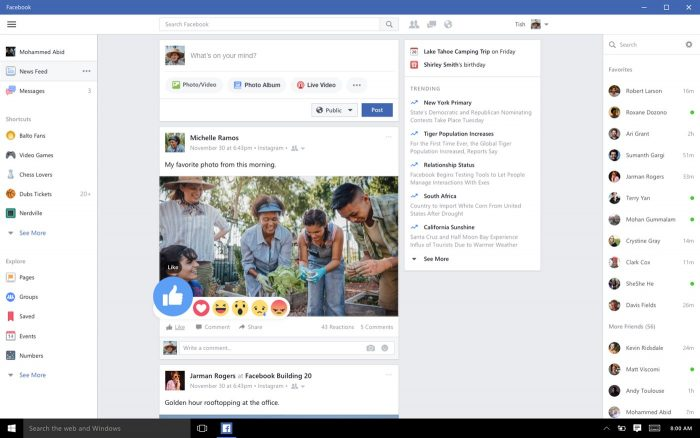 Download Windows 10 Apps for Messenger, Instagram and Facebook