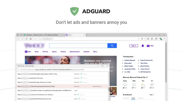 Adguard AdBlocker for Microsoft Edge