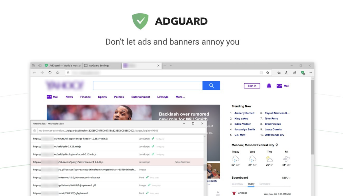 Download Adguard AdBlocker for Microsoft Edge