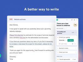 Microsoft Edge Grammarly Extension