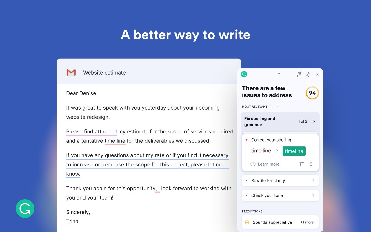 Download Grammarly for Microsoft Edge for Free