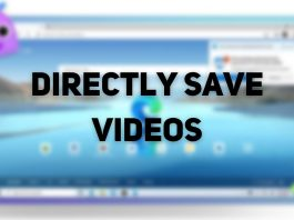Directly Save Videos Edge