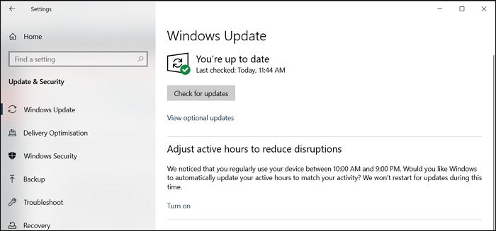 Windows View Optional Updates Driver Updates