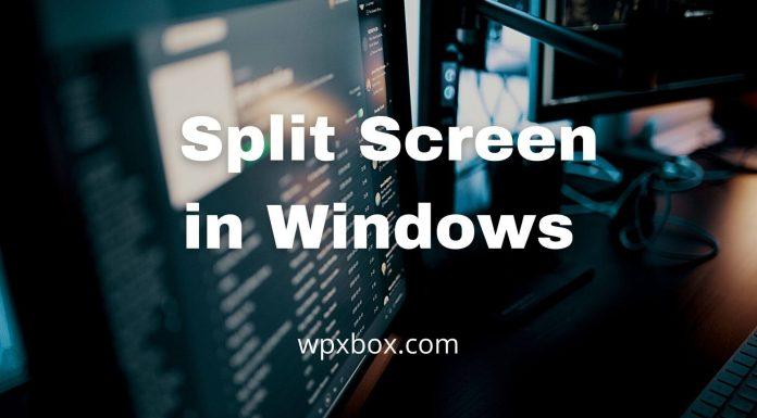Software Split Screen Windows