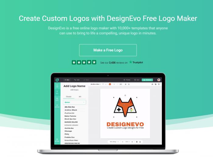 DesignEvo Make Logo Online