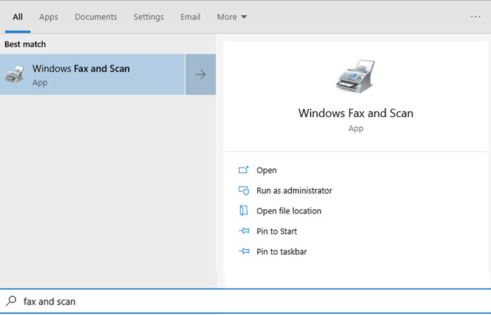 How to Send a Fax from Windows 10