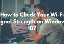 How to Check Your Wi-Fi Signal Strength on Windows 10