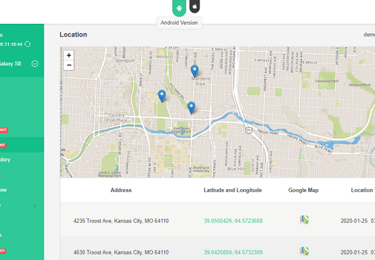 Apps Track Cell Phone Location