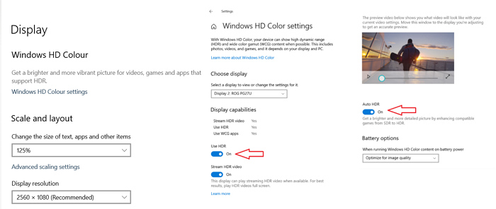 How to Enable Auto HDR for Games on Windows 10 PC