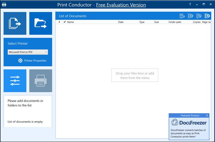 print conductor print multiple files