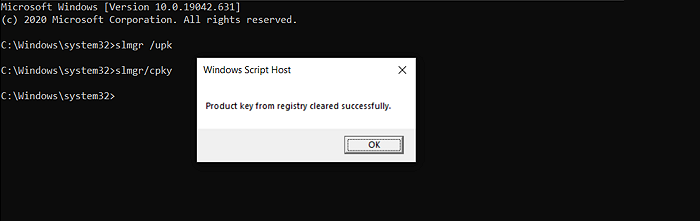 registry cleaned active Windows Key