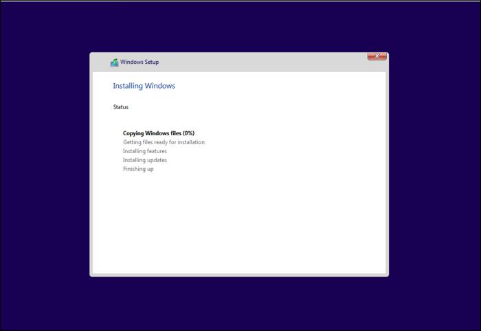 Final Stage Windows 11 Installation Process