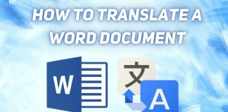 How to Translate a Word Document