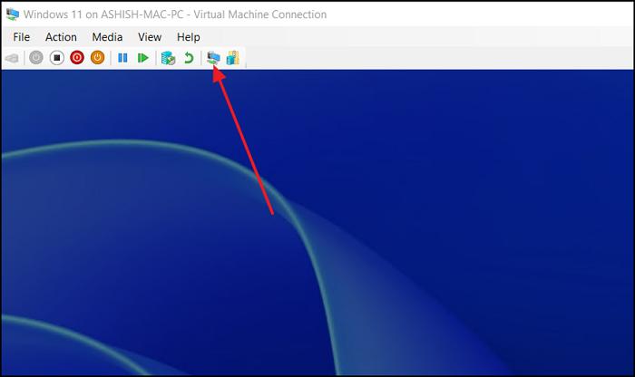 Switch to Basic Session Hyper-V