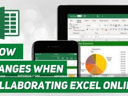 Show Changes When Collaborating in Excel for the Web