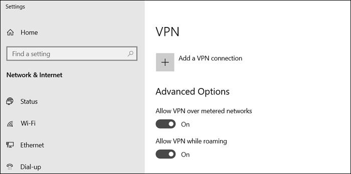 add a vpn connection Windows 10 and Windows 11