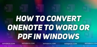 How to Convert OneNote to Word or PDF in Windows
