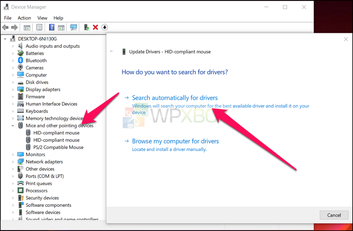 Update Wireless Mouse Drivers