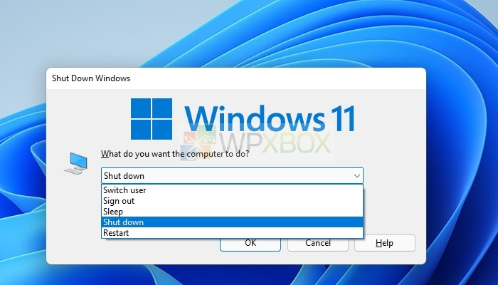 Windows Log Off Shutdown Windows