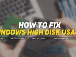 Fix Windows 11 High Disk Usage