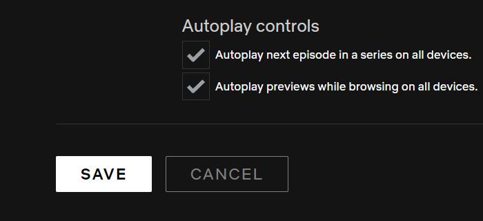 Netflix AutoPlay Control