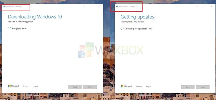 Windows 10 11 Download Progress