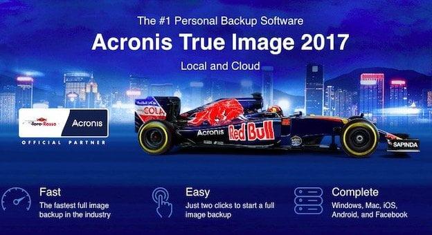 Acronis Tru Image Backup Solution