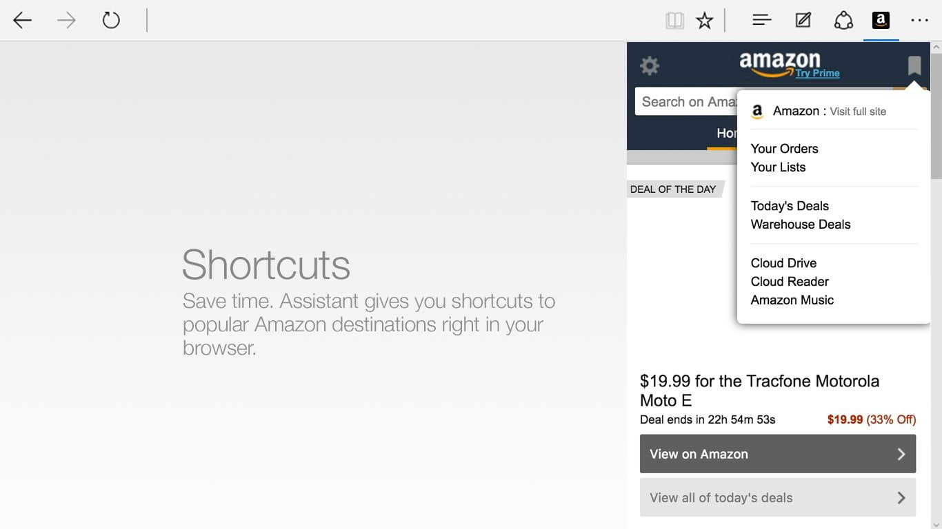 Download Amazon Extension