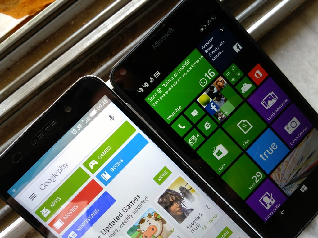 Android on Windows Phone