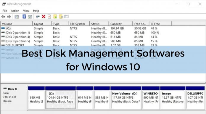 Disk Management Tools Windows