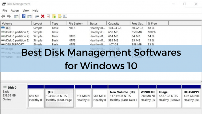 Disk Management Tools Windows