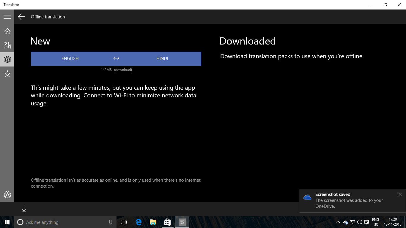 Download Microsoft Translator App for Windows 10