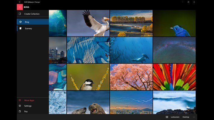 Brilli Wallpaper Changer Windows 10