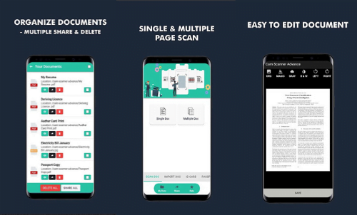 Best CamScanner Alternatives for Android for Scanning Documents