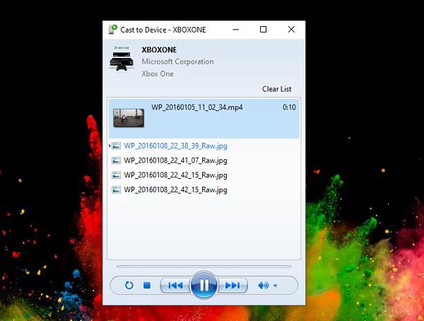 Cast to Device on Windows 10