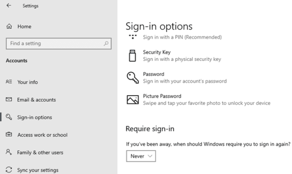 How to Disable Sleep Password in Windows 10