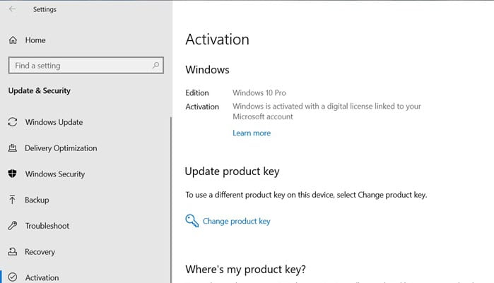 How to Check Windows 10 Activation