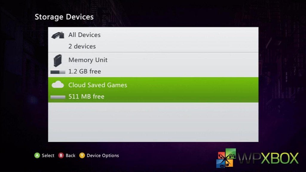 Cloud Storage Xbox Enabled