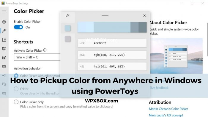 ColorPicker PowerToys Featured