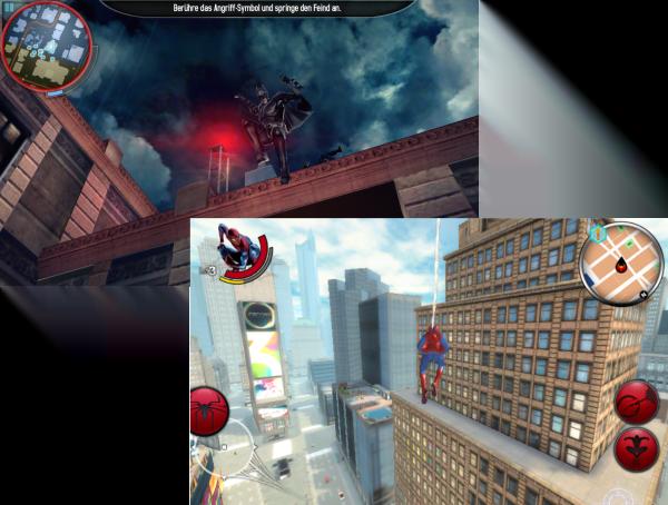 Control Spiderman Batman
