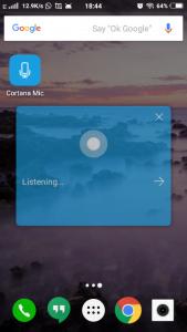 Cortana Mic icon