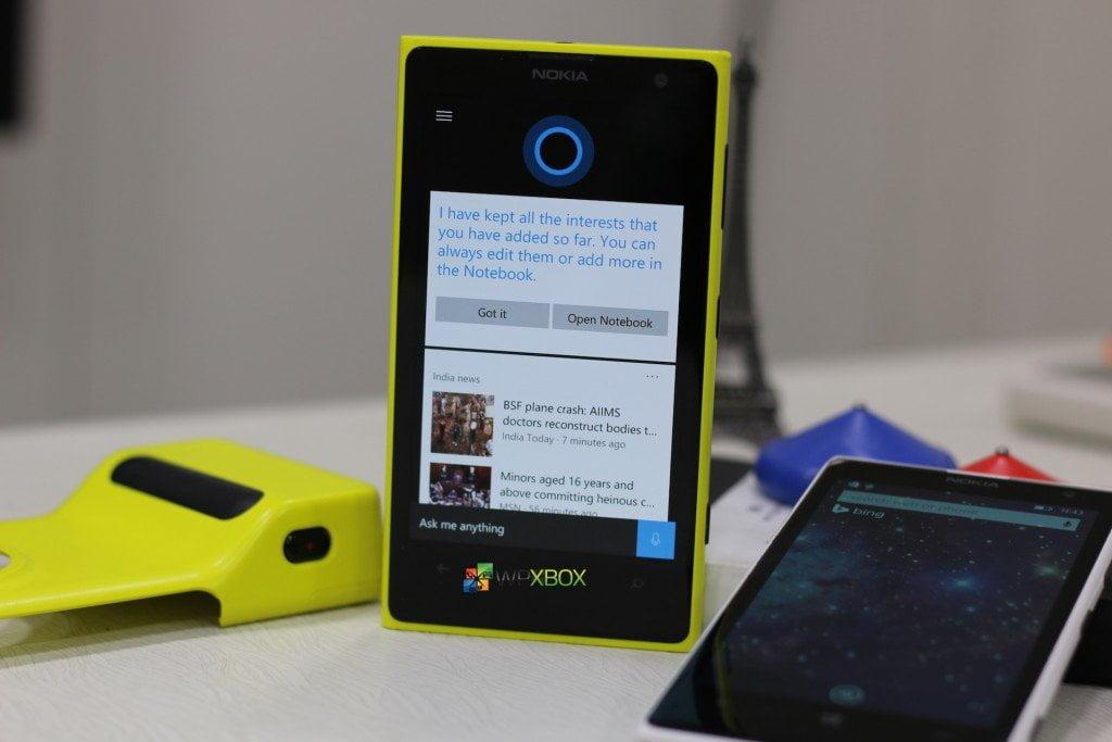 Cortana Windows 10 Mobile