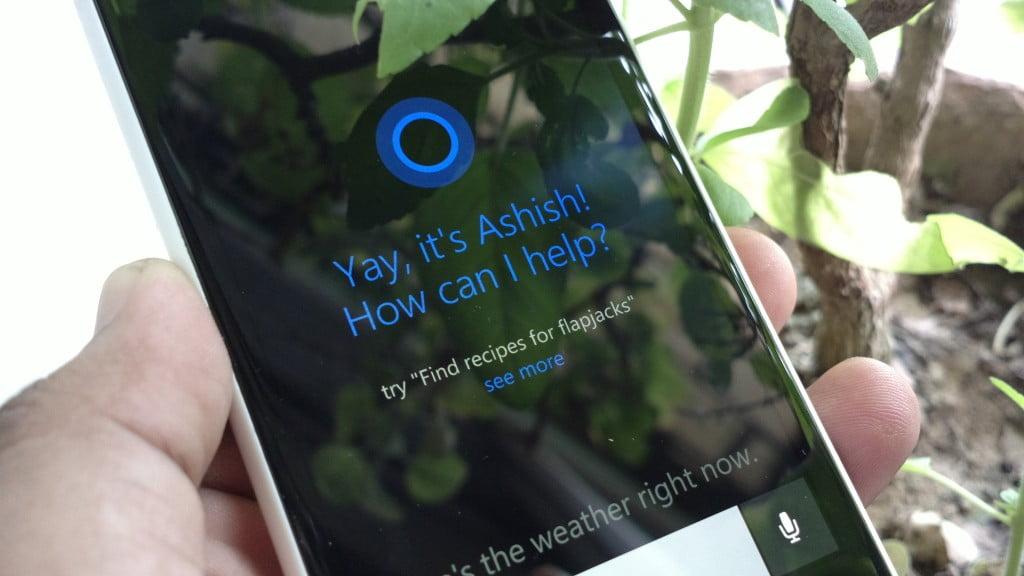 Cortana for India