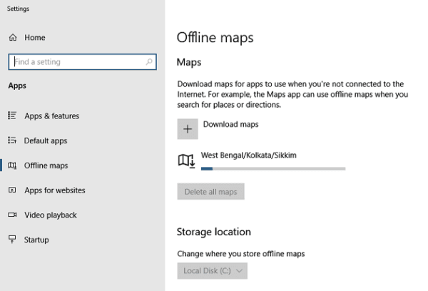 How to Download and Manage Offline Maps on Windows 10 PC