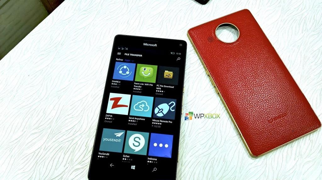 Best File Transfer Apps for Windows 10 Mobile