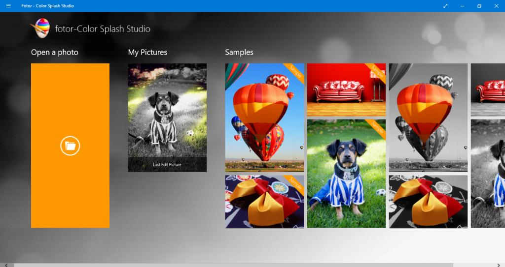 Color Splash Studio Windows