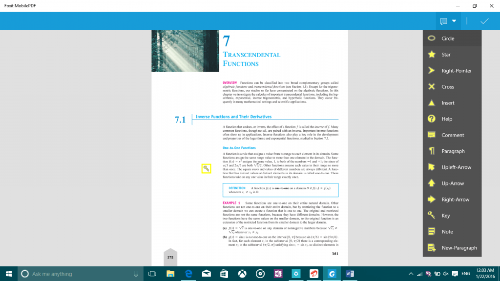 Review of Foxit MobilePDF for Windows 10 PC and Mobile