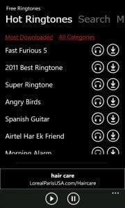 Free Ringtone Downloads