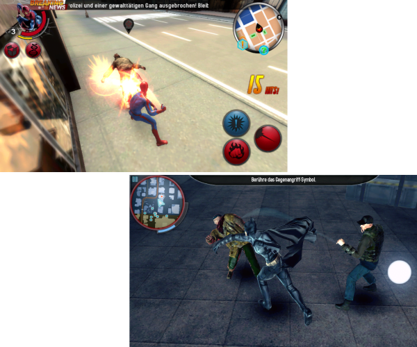 Gameplay Spiderman Batman